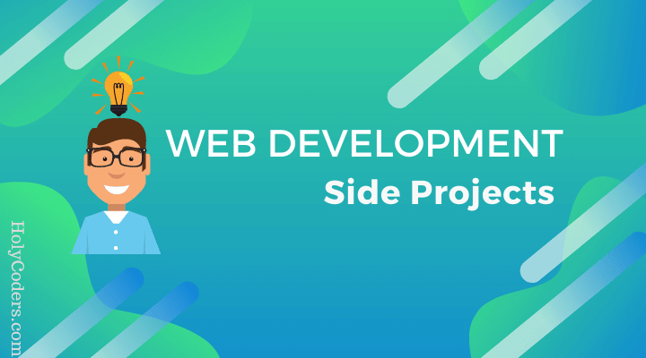 Full Stack Web development Coding Project ideas