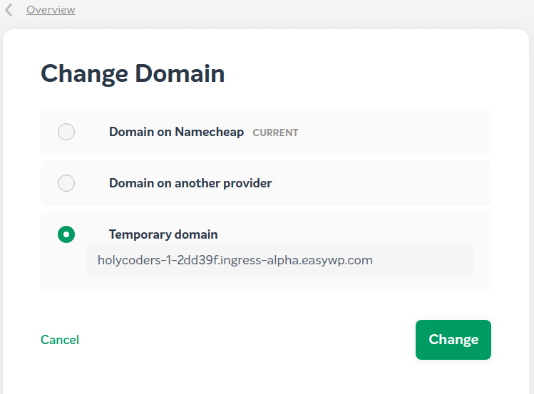 free subdomain name for testing