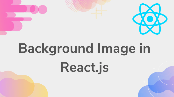 Set Background Image In React Js Using Inline Style Css